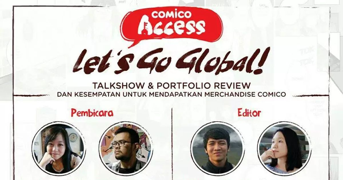 "[Liputan] Comico Access ""Let's Go Global"" Malang"